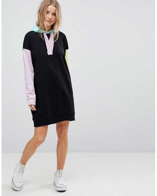 Best Selling Discount Codes Really Cheap ASOS Colour Block Hoody Dress Visa Payment Cheap Price Real Cheap Online Cheap Release Dates 7iD2Ae