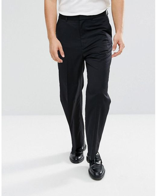 d6e2441411e3 Weekday - Black Orb Trousers for Men - Lyst ...