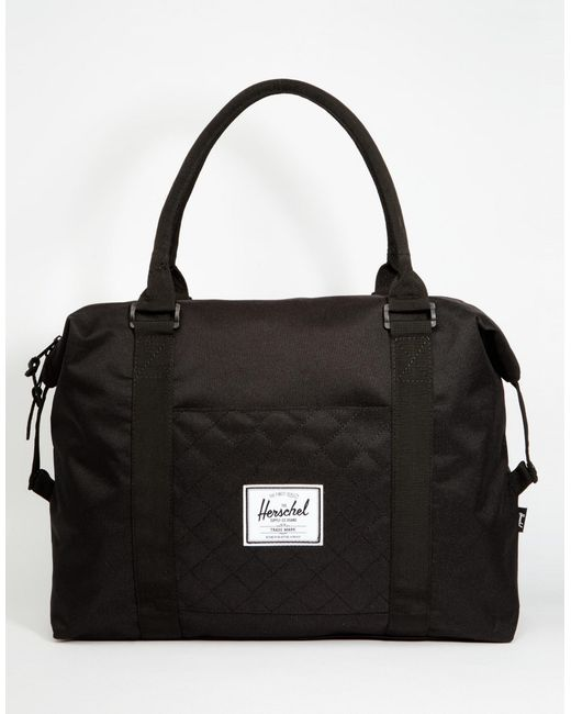 Herschel Supply Co. | Black Strand Quilted Holdall 18l for Men | Lyst