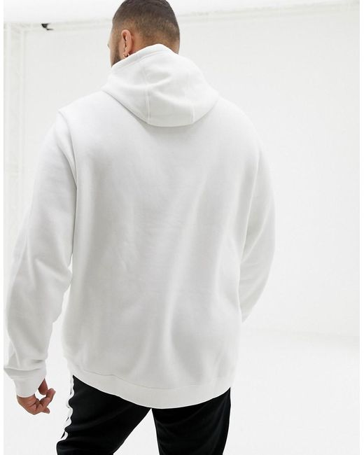 3a6ccccd1 ... Nike - Plus Club Swoosh Pullover Hoodie In White 804346-100 for Men -  Lyst