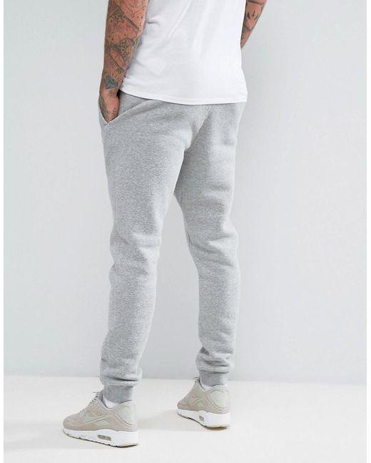 ... Nike - Gray Cuffed Club Jogger In Grey 804408-063 for Men - Lyst ...