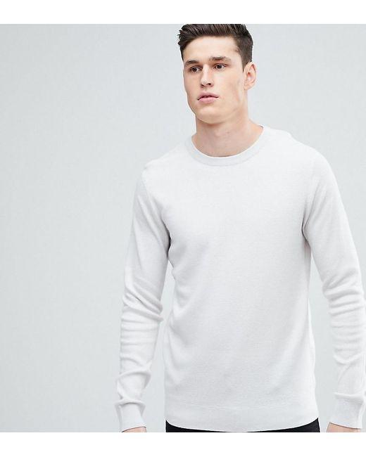 SELECTED - Natural Crew Neck Knit Jumper for Men - Lyst