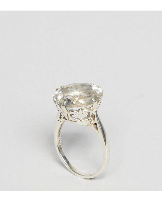 Regal Rose | Metallic Addicted Clear Quartz Sterling Silver Ring | Lyst