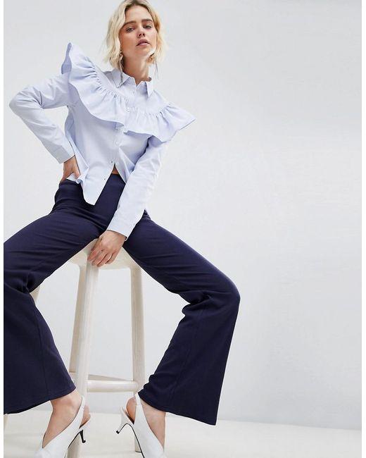 UNIQUE21 - Black Unique 21 Jersey Trouser - Lyst