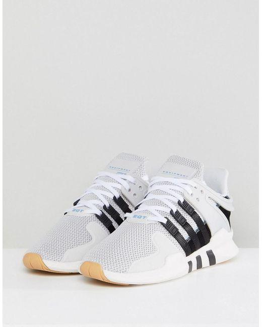 Lyst adidas Originals Originals EQT Support ADV zapatillas gris