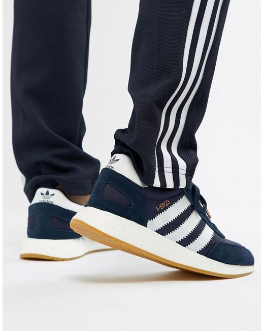 7bdf1c3d8297 Adidas Originals - Blue I-5923 Runner Trainers In Navy Bb2092 for Men -  Lyst ...
