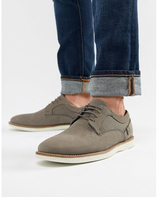 Red Tape - Holker Casual Lace Up Shoes In Gray for Men - Lyst