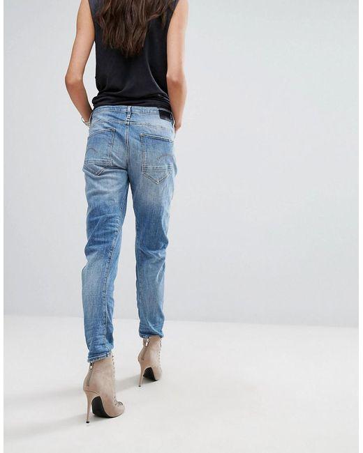 6a862d839c0 ... G-Star RAW - Blue G Star Arc 3d Boyfriend Jeans - Lyst