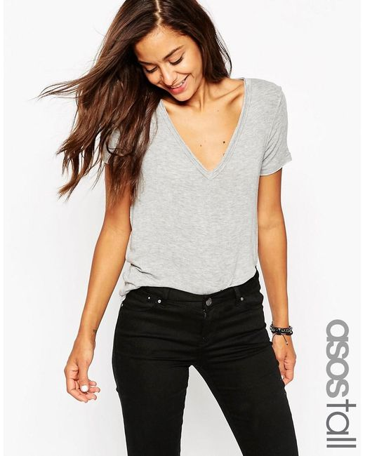 ASOS | Gray Tall The New Forever T-shirt | Lyst