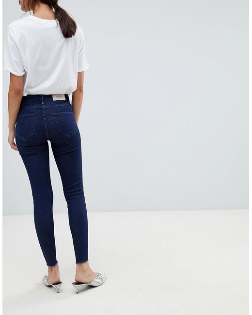 Vila Zip front skinny jeans Buy Cheap Cost Discount Purchase Cheap Sale Low Price 5uCOA