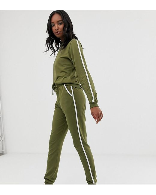 ASOS Tracksuit Cute Sweat / Basic Jogger With Tie
