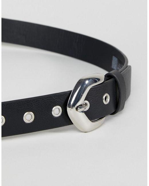 Double Wrap Waist and Hip Belt - Black Asos 5ShTTeiO