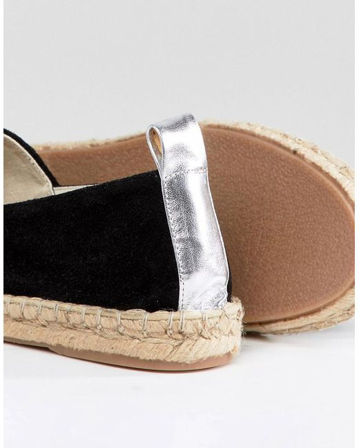 Discount Prices Cheap Price Outlet Sale DESIGN Janna Suede Espadrilles - Navy suede Asos 2018 New vkhzbErihY