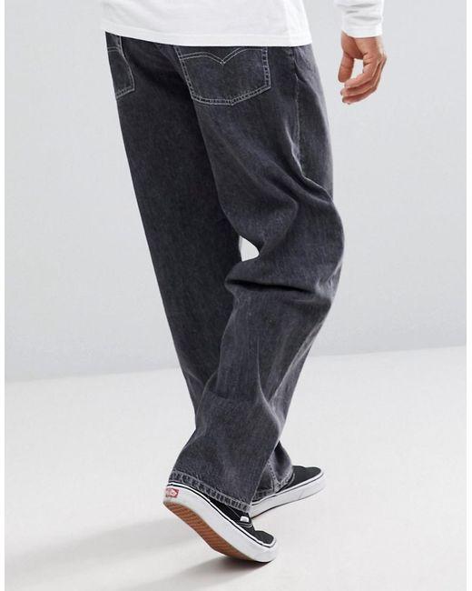 7da7736b ... Levi's - Blue Silvertab baggy Jeans Grey Wash for Men - Lyst