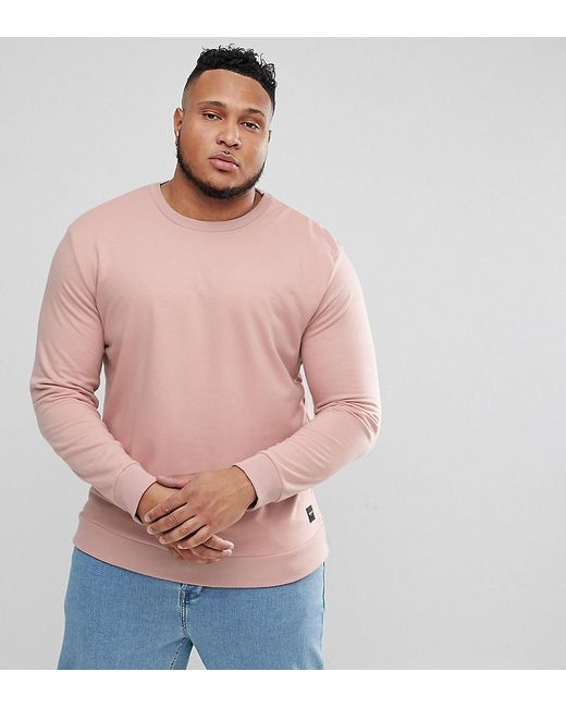 Only & Sons - Pink Crew Neck Sweat for Men - Lyst
