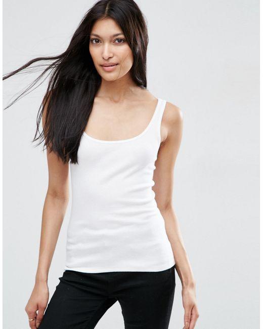 ASOS   The Ultimate Singlet - White   Lyst