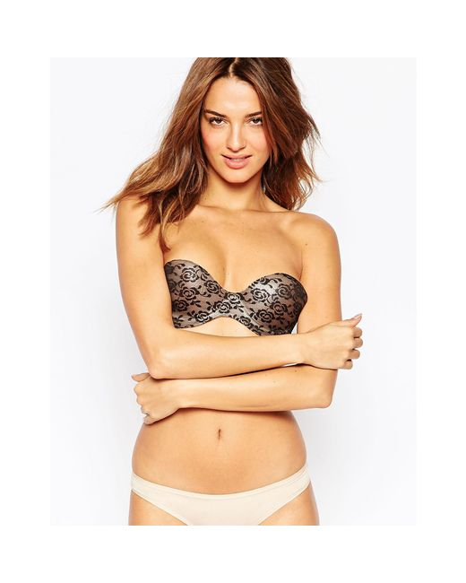 Fashion Forms | Black Lace Bodysculpting Stick On Bra | Lyst