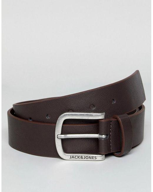 Jack & Jones - Brown Belt for Men - Lyst