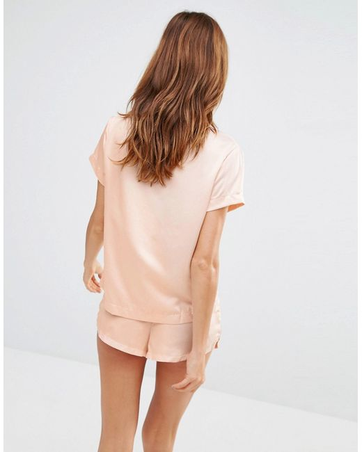 Bluebella Abigail Short Pyjama Set in Pink | Lyst