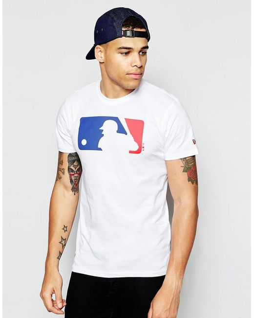 KTZ | White T-shirt With Batter Logo for Men | Lyst