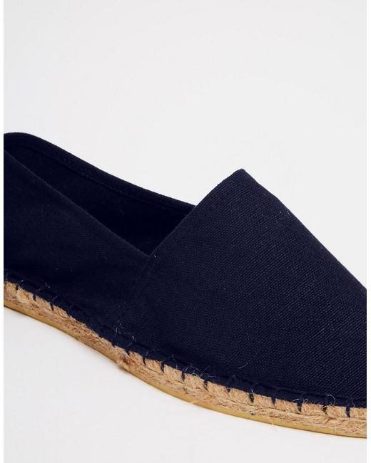 Wide Fit Espadrilles In Grey And Navy 2 Pack SAVE - Multi Asos