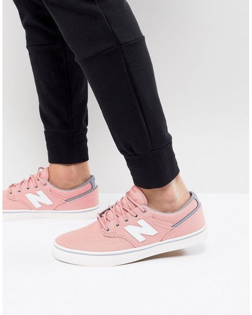 New Balance - Numeric Plimsolls In Pink Am331smn - Lyst
