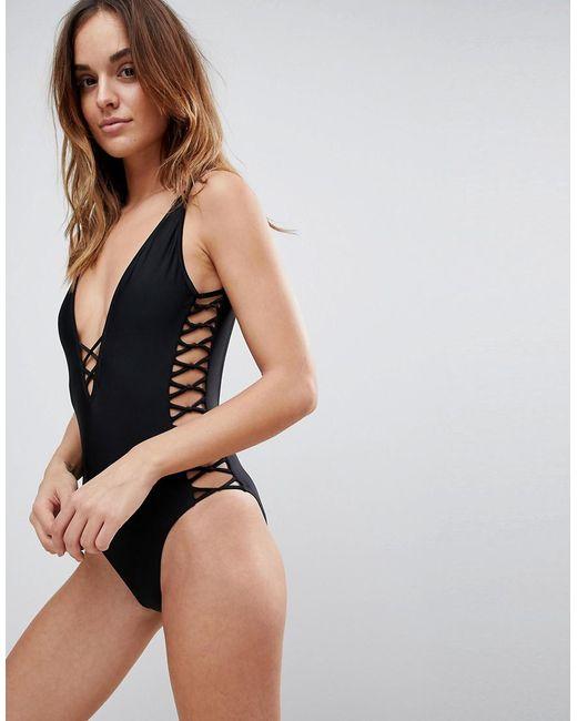 Boux Avenue - Black Madrid Swimsuit - Lyst