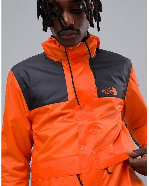 The North Face - 1985 Seasonal Celebration Mountain Jacket In Orange for Men - Lyst