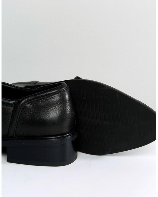 Outlet Order Nancy Black Star Studded Leather Flat Shoes - Black stud Sol Sana Outlet Best Store To Get For Sale twfaA51S