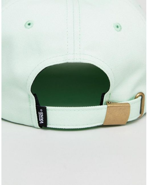 Bill Jockey Cap In Green VA36IUP0N - Green Vans hW6mo