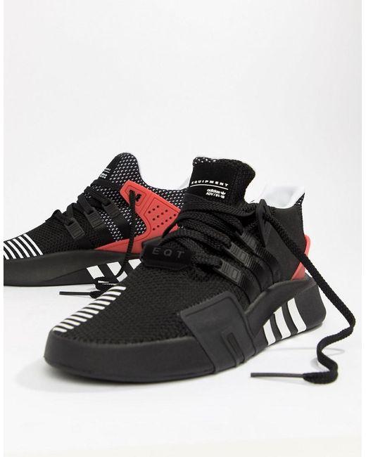 9febb62f523 Adidas Originals - Eqt Bask Adv Sneakers In Black Aq1013 for Men - Lyst ...