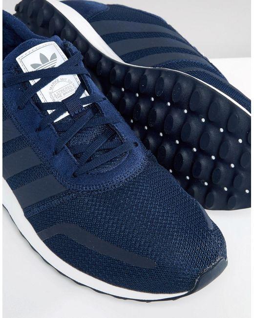 Adidas Originals Los Angeles Trainers In Navy S31532 In