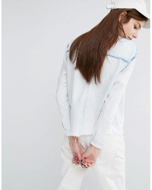 Tencel Denim Shirt Womens