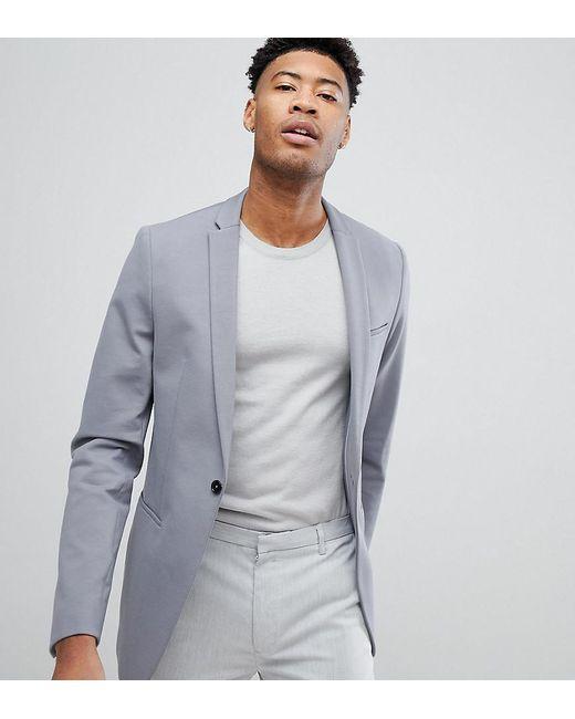 Noak - Gray Skinny Jersey Blazer for Men - Lyst