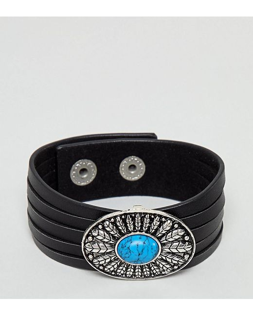 Reclaimed (vintage) - Metallic Inspired Bangle Exclusive At Asos for Men - Lyst
