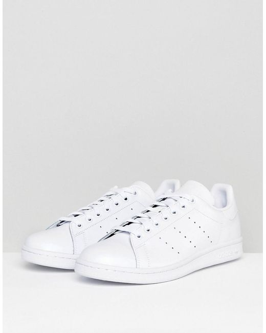 d8c25bdb0 Adidas Originals - Stan Smith Sneakers In White for Men - Lyst ...