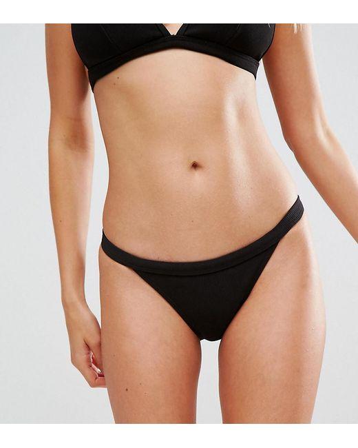 Gold Zip Bikini Bottom - Black Wolf & Whistle Particular Best 2018 Unisex Cheap Online oU4QiJ
