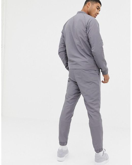9ade559d2a ... Nike - Gray Woven Tracksuit Set In Grey 861778-036 for Men - Lyst