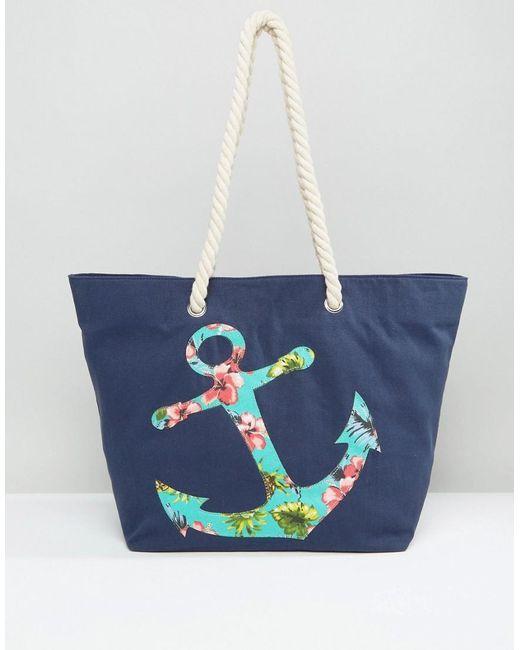 Chateau Anchor Beach Bag in Blue | Lyst