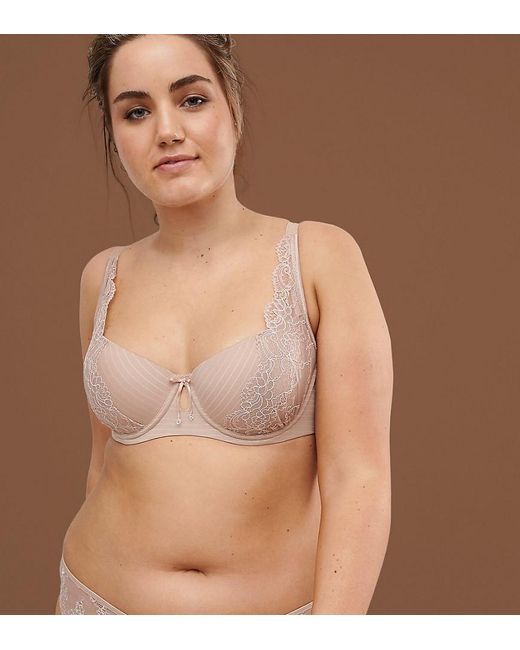 Ashley Graham - Natural High Apex Blush Nude Tshirt Bra In Fair - Lyst