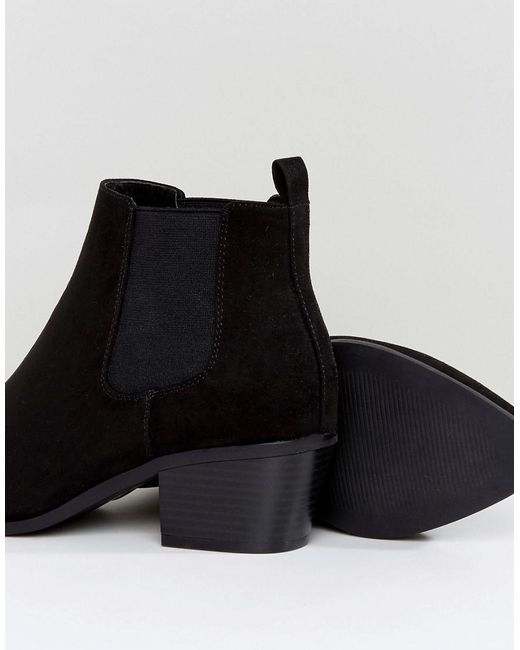 DESIGN Wide Fit Revive chelsea ankle boots