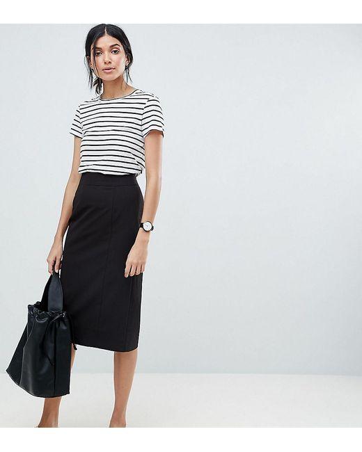 ASOS - Black Asos Design Tall Mix & Match Pencil Skirt - Lyst