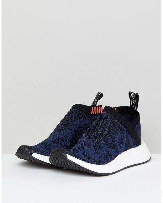Adidas Originali Originali Nmd Cs2 Ombra A Formatori In Marina