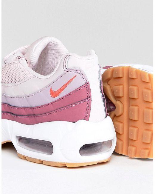 nike air max 95 pink asos