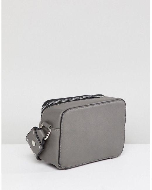 Cross Body Bag with Chain Tassel - Grey Yoki Fashion sjIvn