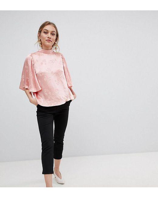 ASOS - Black Asos Design Petite Basic Jersey Smart Skinny Trousers - Lyst