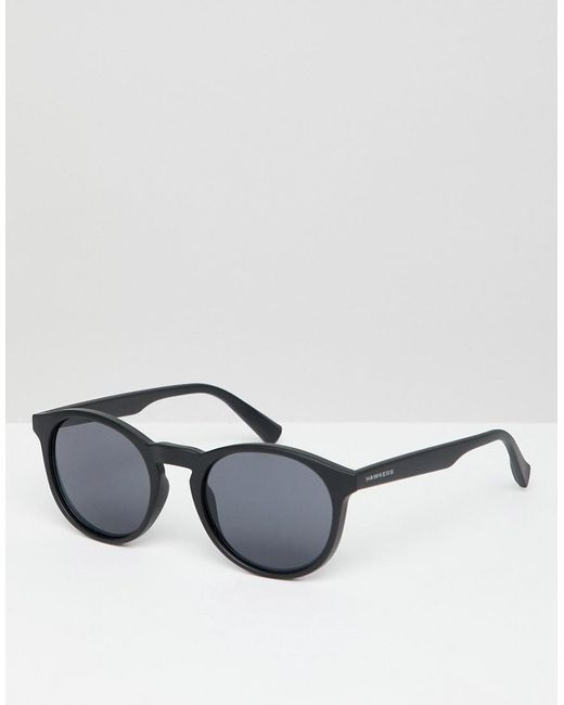 4f348a78c4 Hawkers Sunglasses - Hawkers Bel-air Round Sunglasses In Black for Men -  Lyst ...