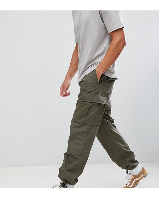 Reclaimed (vintage) - Green Revived Military Cargo Pants for Men - Lyst ... c975f48cac8