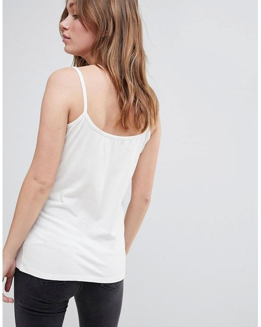 Belllfield Islo Strappy Cami Top - White Bellfield Buy Cheap For Nice Buy Cheap 100% Guaranteed DMdGB
