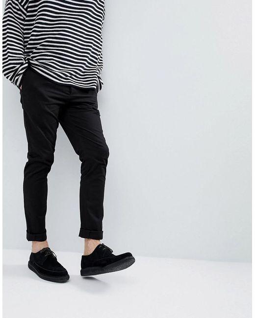 AllSaints   Slim Chino In Black for Men   Lyst